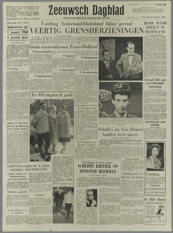 Zeeuwsch Dagblad 1960-02-10