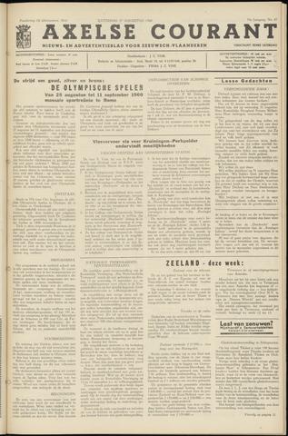 Axelsche Courant 1960-08-27