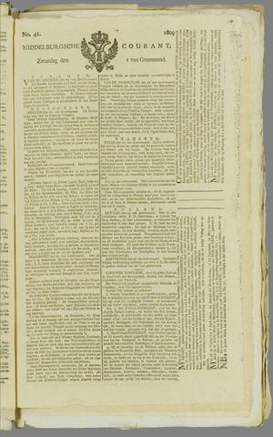 Middelburgsche Courant 1809-04-01