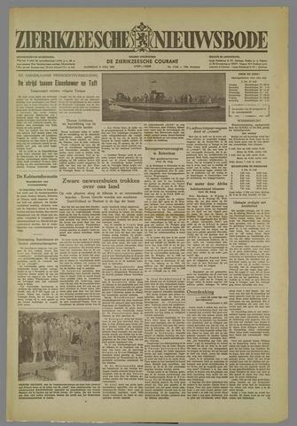 Zierikzeesche Nieuwsbode 1952-07-05