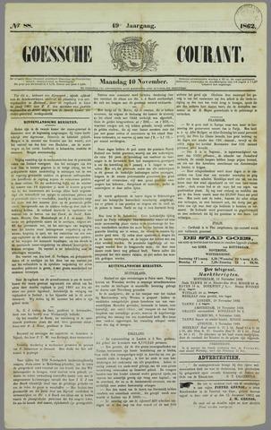Goessche Courant 1862-11-10