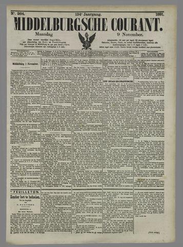 Middelburgsche Courant 1891-11-09