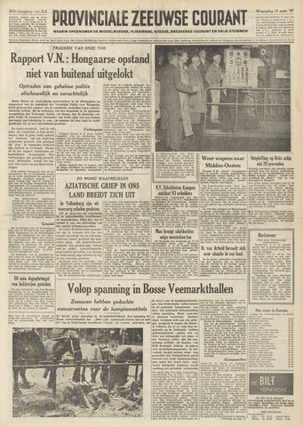 Provinciale Zeeuwse Courant 1957-09-11