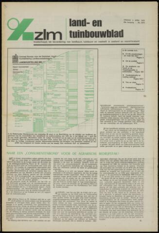 Zeeuwsch landbouwblad ... ZLM land- en tuinbouwblad 1975-04-04