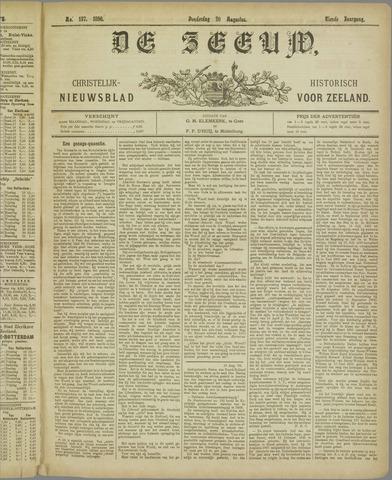 De Zeeuw. Christelijk-historisch nieuwsblad voor Zeeland 1896-08-20