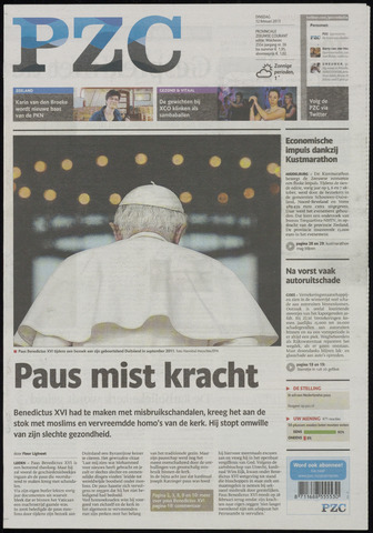Provinciale Zeeuwse Courant 2013-02-12