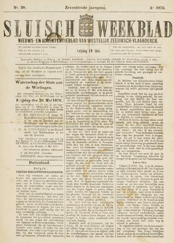 Sluisch Weekblad. Nieuws- en advertentieblad voor Westelijk Zeeuwsch-Vlaanderen 1876-05-19