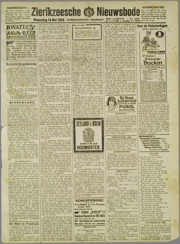 Zierikzeesche Nieuwsbode 1926-05-19