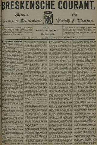 Breskensche Courant 1913-04-19