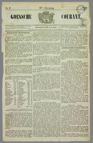 Goessche Courant 1856-01-10