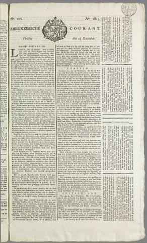 Zierikzeesche Courant 1814-12-23