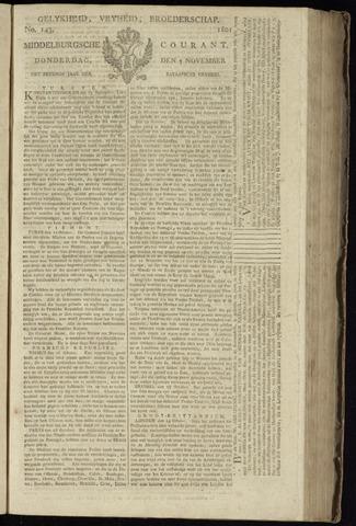 Middelburgsche Courant 1801-11-05