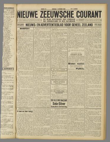 Nieuwe Zeeuwsche Courant 1933-10-17