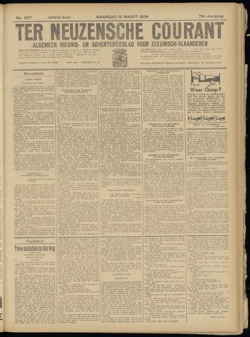 Ter Neuzensche Courant. Algemeen Nieuws- en Advertentieblad voor Zeeuwsch-Vlaanderen / Neuzensche Courant ... (idem) / (Algemeen) nieuws en advertentieblad voor Zeeuwsch-Vlaanderen 1934-03-12