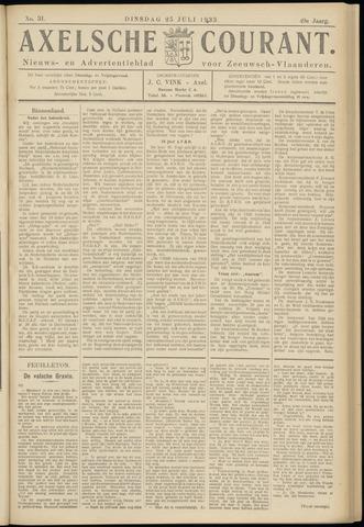 Axelsche Courant 1933-07-25
