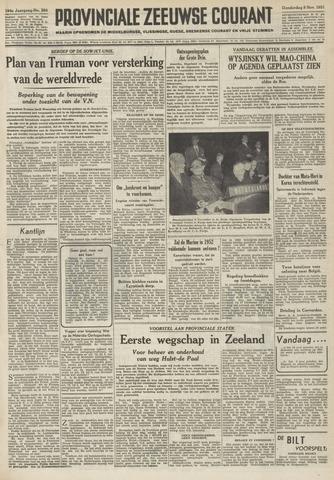 Provinciale Zeeuwse Courant 1951-11-08