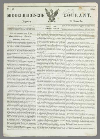 Middelburgsche Courant 1860-11-20
