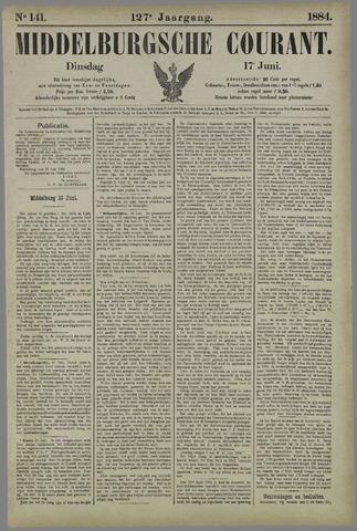 Middelburgsche Courant 1884-06-17