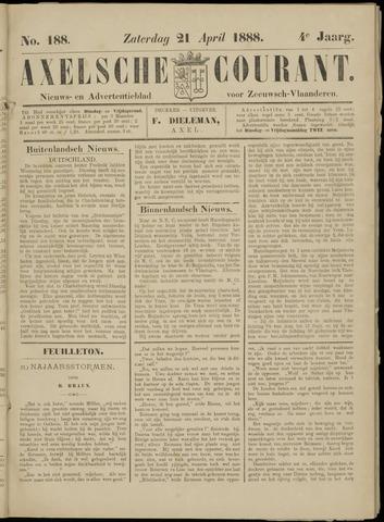 Axelsche Courant 1888-04-21