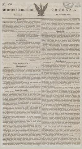 Middelburgsche Courant 1834-11-13