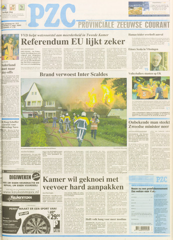 Provinciale Zeeuwse Courant 2003-09-11