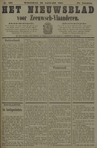 Nieuwsblad voor Zeeuwsch-Vlaanderen 1901-01-30