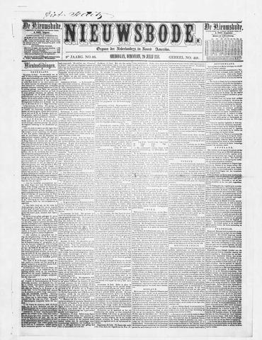 Sheboygan Nieuwsbode 1858-07-20