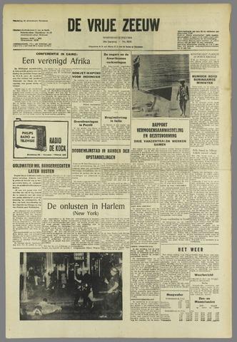 de Vrije Zeeuw 1964-07-22