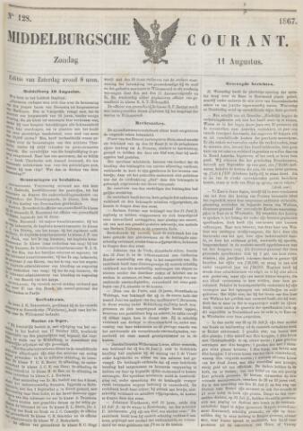 Middelburgsche Courant 1867-08-11
