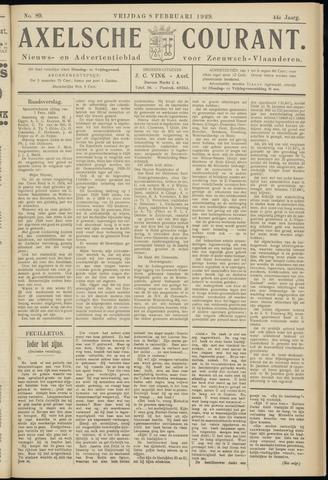 Axelsche Courant 1929-02-08