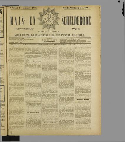 Maas- en Scheldebode 1892
