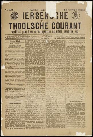 Ierseksche en Thoolsche Courant 1914-08-01