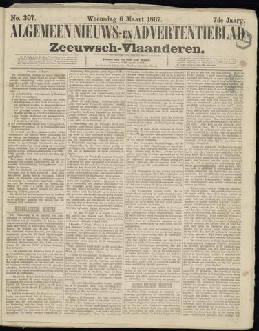 Ter Neuzensche Courant. Algemeen Nieuws- en Advertentieblad voor Zeeuwsch-Vlaanderen / Neuzensche Courant ... (idem) / (Algemeen) nieuws en advertentieblad voor Zeeuwsch-Vlaanderen 1867-03-06