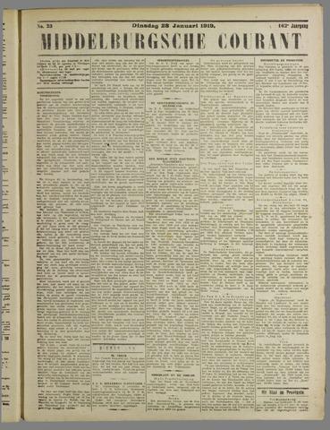 Middelburgsche Courant 1919-01-28