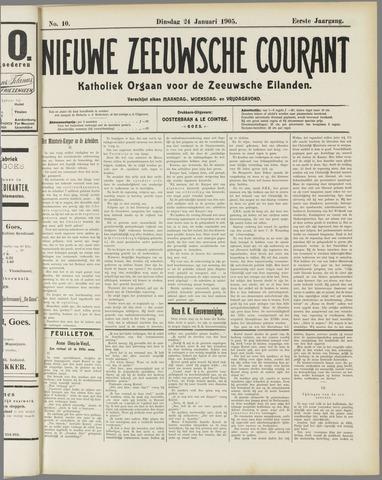 Nieuwe Zeeuwsche Courant 1905-01-24