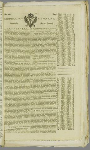Middelburgsche Courant 1809-01-26