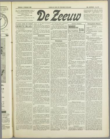 De Zeeuw. Christelijk-historisch nieuwsblad voor Zeeland 1934-02-06