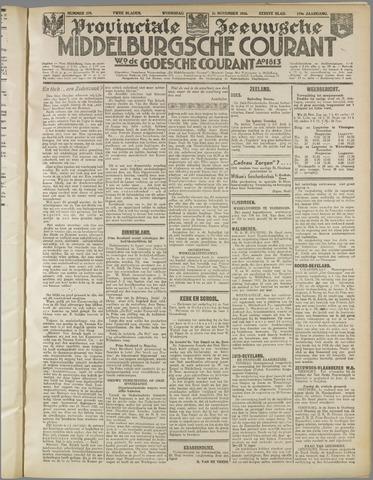 Middelburgsche Courant 1936-11-25