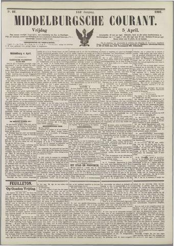 Middelburgsche Courant 1901-04-05