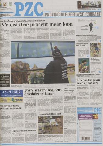 Provinciale Zeeuwse Courant 2004-09-21