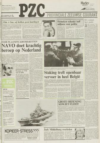 Provinciale Zeeuwse Courant 1984-04-04