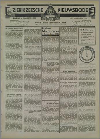 Zierikzeesche Nieuwsbode 1936-08-04