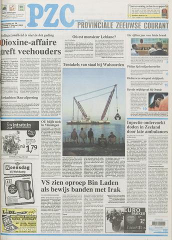 Provinciale Zeeuwse Courant 2003-02-12