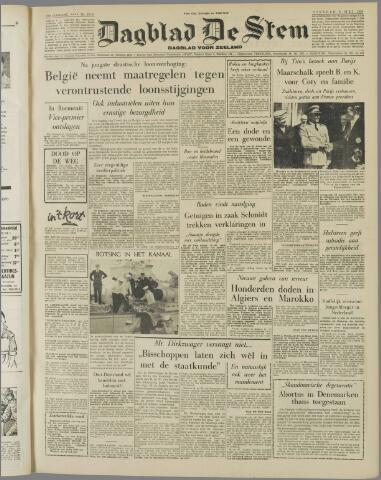 de Stem 1956-05-08