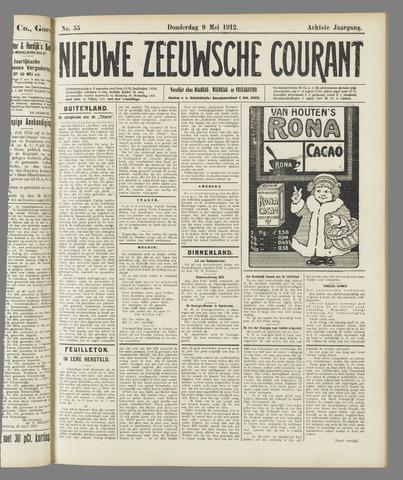 Nieuwe Zeeuwsche Courant 1912-05-09