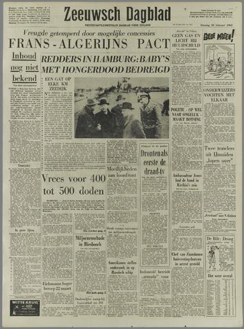Zeeuwsch Dagblad 1962-02-20
