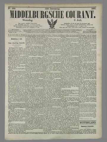 Middelburgsche Courant 1891-07-06