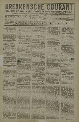 Breskensche Courant 1927-01-01