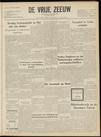 de Vrije Zeeuw 1954-10-14