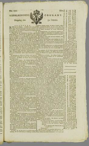 Middelburgsche Courant 1810-10-30